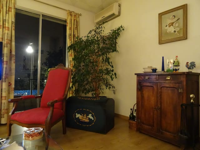 Double room in Frejus 10 mn walk to the beach - Fréjus - บ้าน