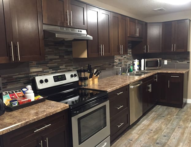 Modern,Clean,Quiet. Entire 2BR Suite Parking for 2 - Regina - Casa