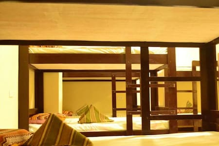 Budget Dormitory beds 6 people