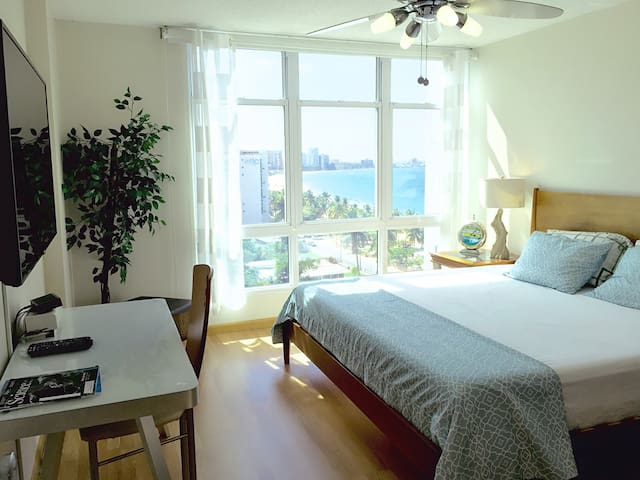 1BR NEW-Beachfront Oceanview Condo - Carolina - Daire
