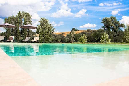 B&B room in luxury Villa with pool - Colombella - Bed & Breakfast