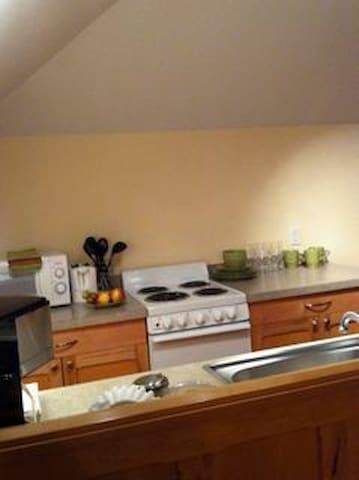 Kitchen in the Loft!