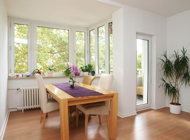 Heart of Frankfurt City @Main River - Frankfurt - Apartamento