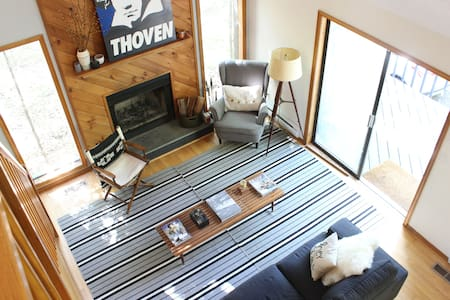Fall Mid Century Pocono Mountain Escape - Bushkill