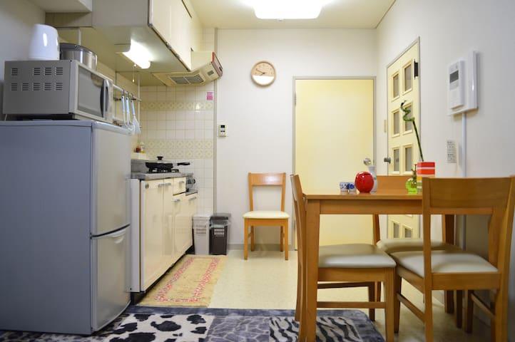 2 Bedroom 1 Minute Walk from ST K-Town by Shinjuku - Shinjuku-ku
