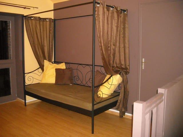 chambre confort en campagn - La Chapelle-Rainsouin - アパート