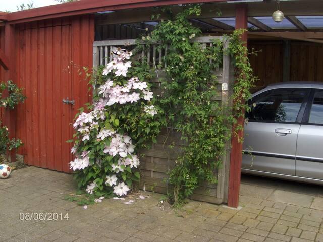carport som kan benyttes