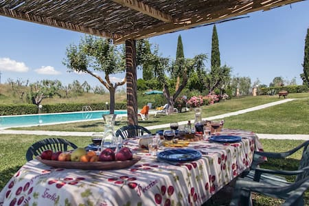 Apartment with swimming-pool & BBQ - Montepulciano
