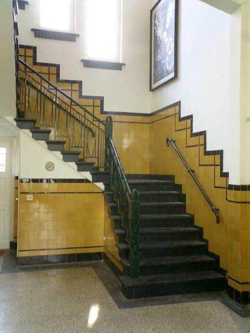 Entrance hall...