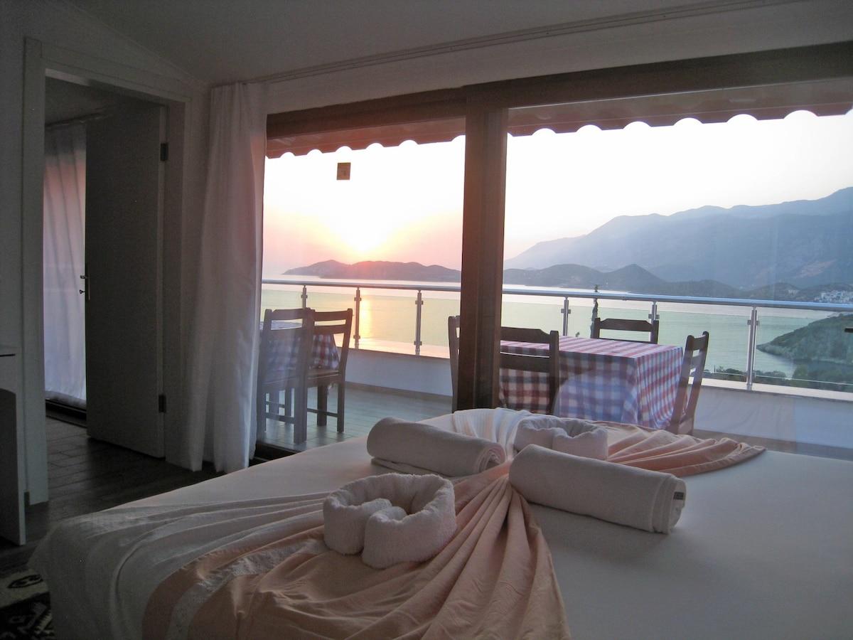 Villa Fleming  WATERFRONT A Sea View Paradise, Cukubarg Peninsular, Kas,  Turkey (Country House   Kas Town, Kas)