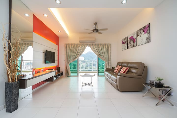 One Sky Leisure Holiday Home - Bayan Lepas - Apartemen