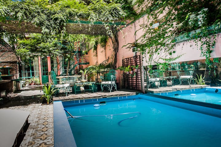 Colonial, Vintage & Chic. Pool - Buenos Aires - Apartment