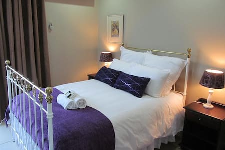 Purple Room. Double with shower