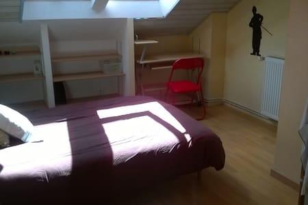 Chambre avec douche  dans maison de centre-ville - Bergerac