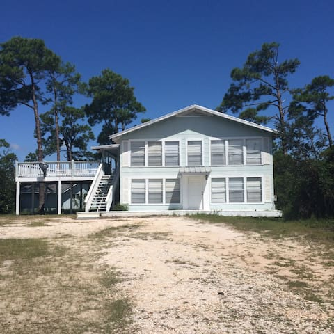 Waterfront! Beach and Bayou, private pier, deck!