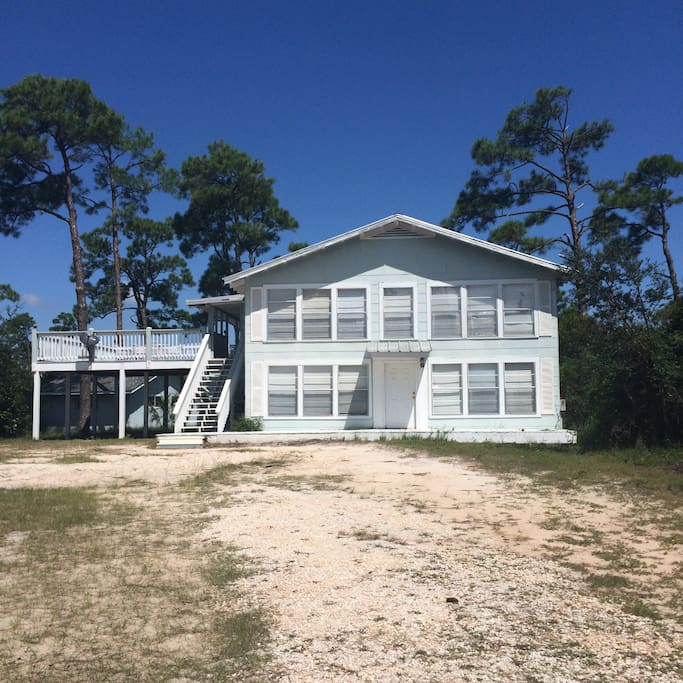 Houses For Rent: Waterfront! Beach And Bayou, Private Pier, Deck!