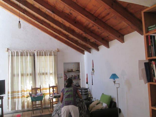 CASA CON OLOR A CAFE, GRAN PATIO - Santa Lucía del Camino - Dům