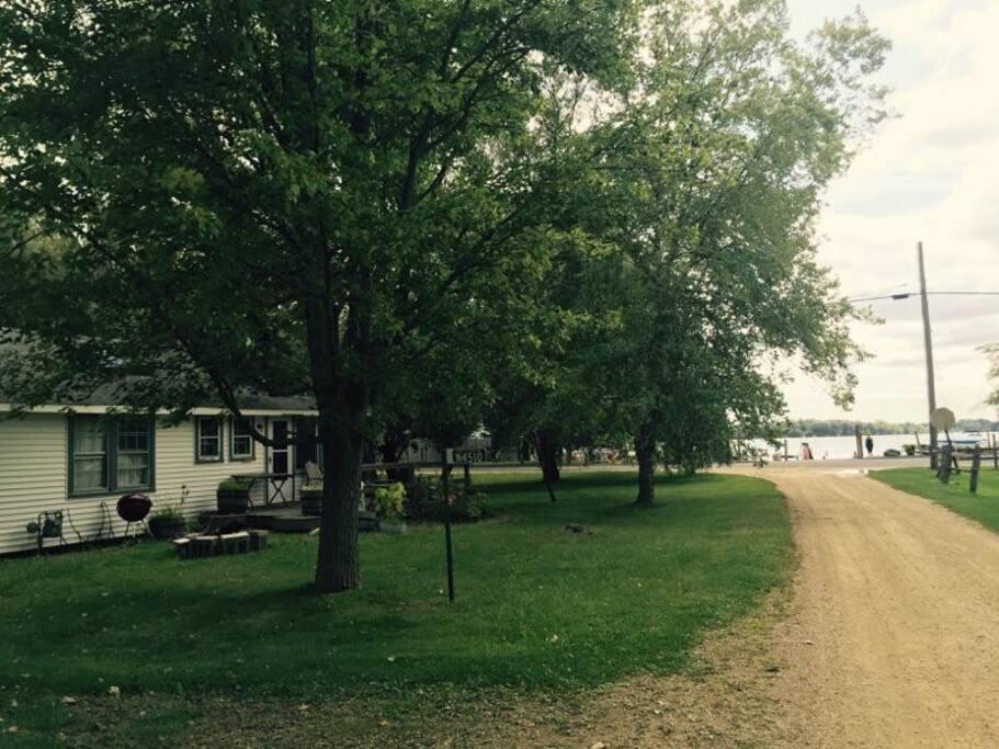 Lake Ripley just steps away