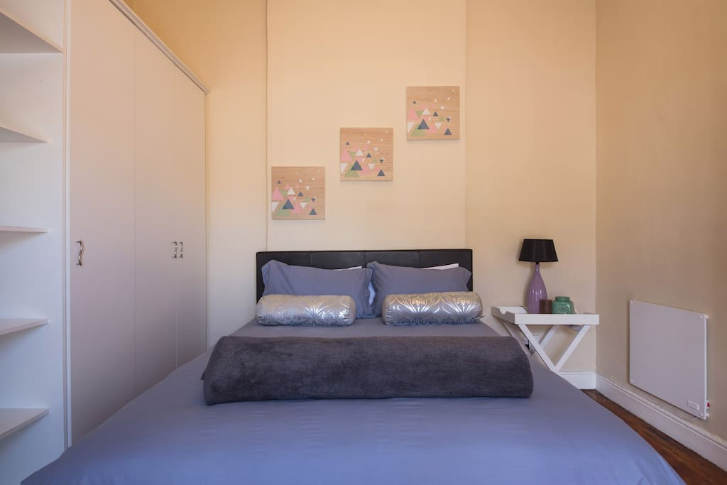 Egyptian cotton linen in the first bedroom