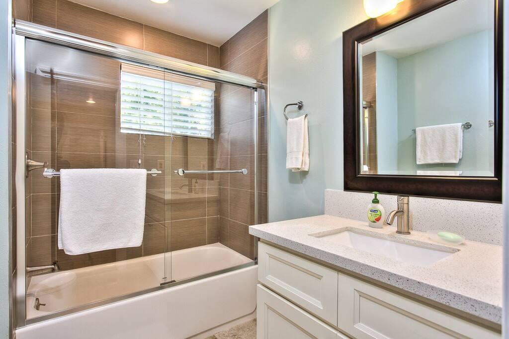 Master bath room all remodeled