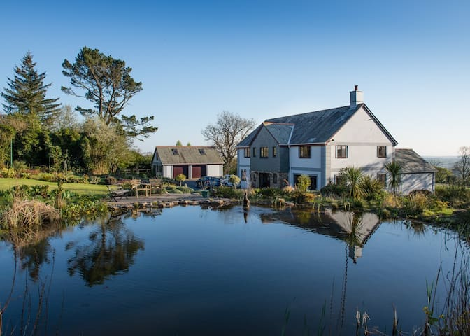 Whingreen Court B&B, Dartmoor NP - Ivybridge - 家庭式旅館