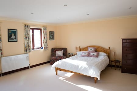 Double en-suite in country house. - South Hams District - 住宿加早餐