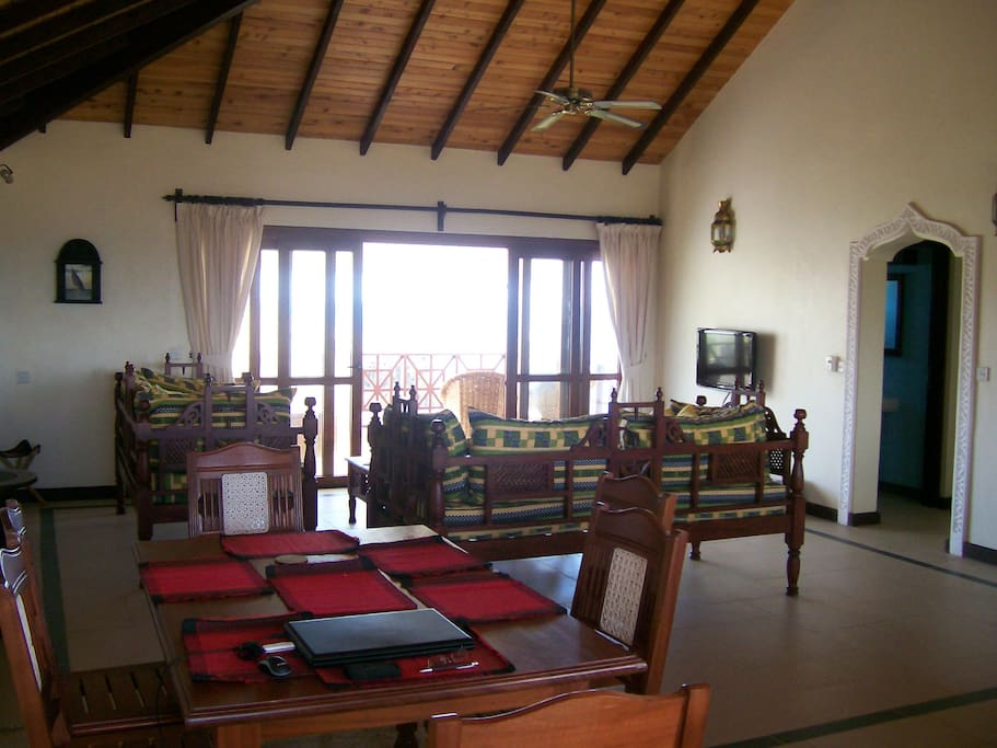 Large spacious and very Swahili.