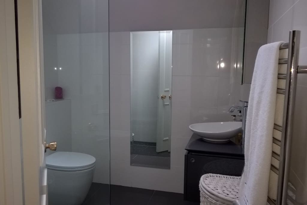 Shower room, light and bright