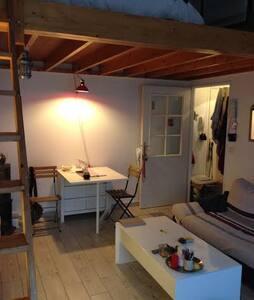 grand studio clair de 38 m2 - Wohnung