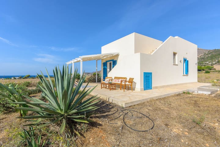 Home between wind and sea - Favignana - Haus