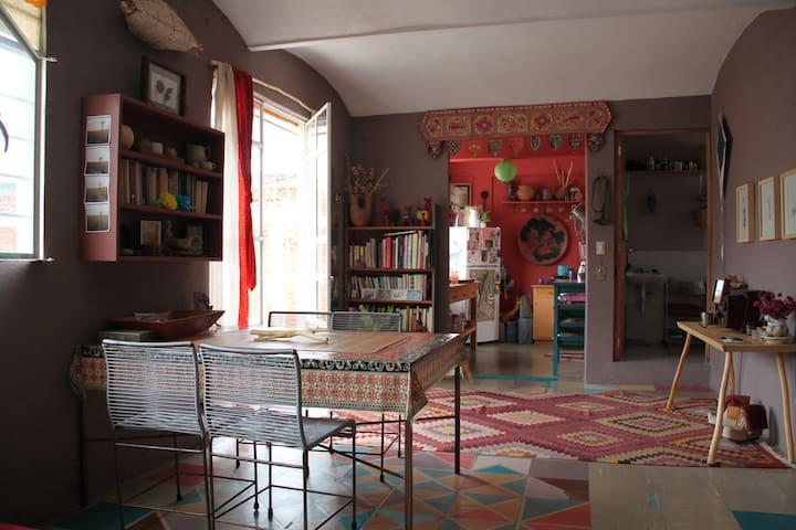 Personal, Artful, Light-filled in Oaxaca City - Oaxaca - Apartment