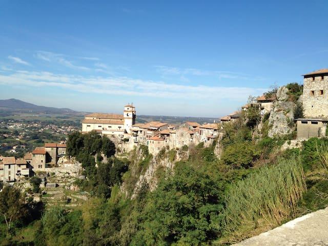 Appartamento panoramico nel borgo - Artena - Leilighet