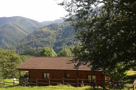 Casa de madera de 80 m2 útiles. - Ezcurra - Rumah