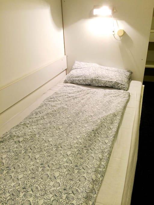 Zweites gemütliches  Bett