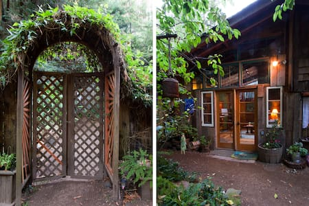 Calla Lilly Cottage in the Redwoods - Carmel - Talo