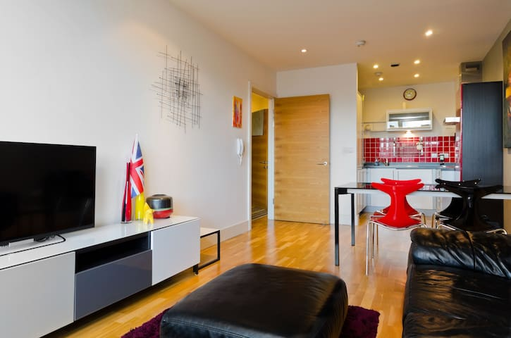 Luxury Apartment, Liverpool UK - Liverpool - Byt