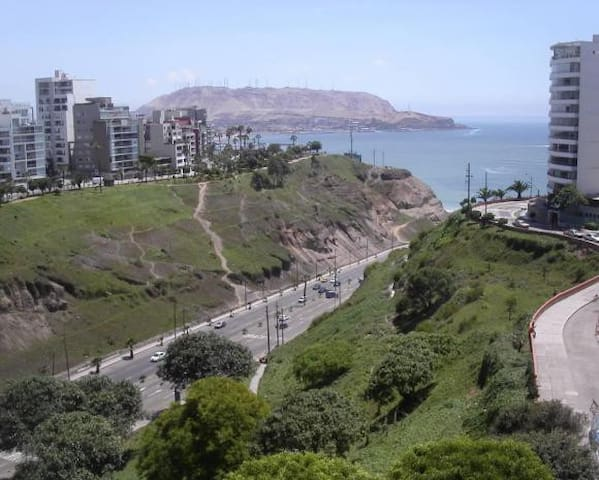 Heart of Miraflores. Ocean View - Lima - Appartement