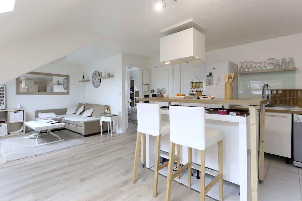 Appartement cosy paris disneyland apartamentos para alugar em noisy le grand ilha de fran a - Apartamentos en disneyland paris baratos ...