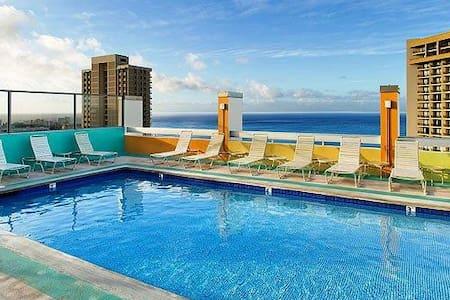 Rooftop Pool and Ocean View Studio