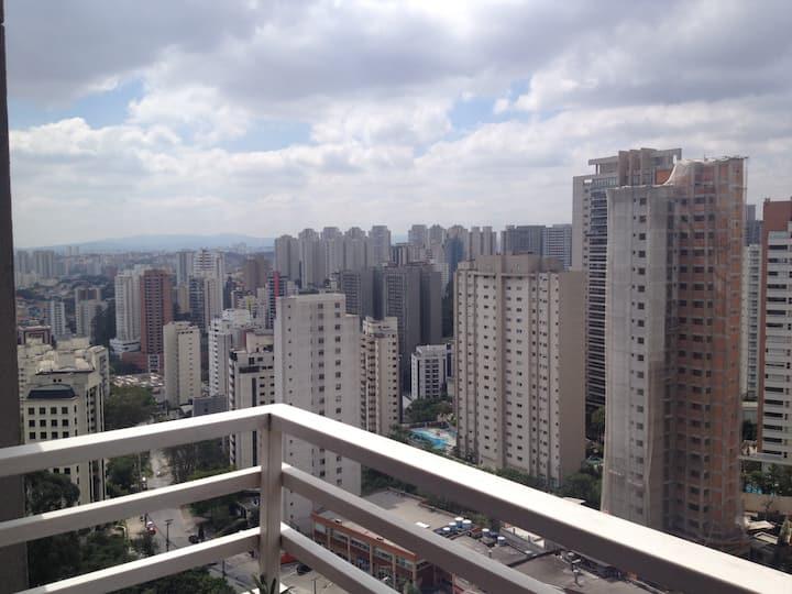 Loft Moderno bairro tranquilo