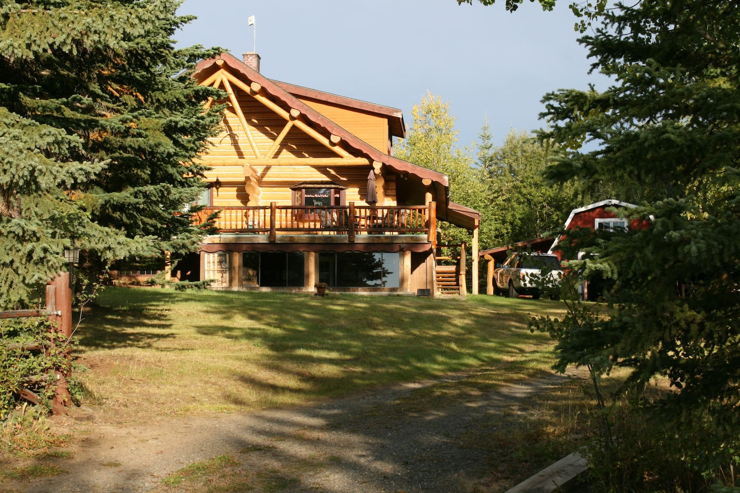Great family home on 2 acres. Ideal for family reunions and special holidays. Moon Dance Bay Resort nearby for overflow.