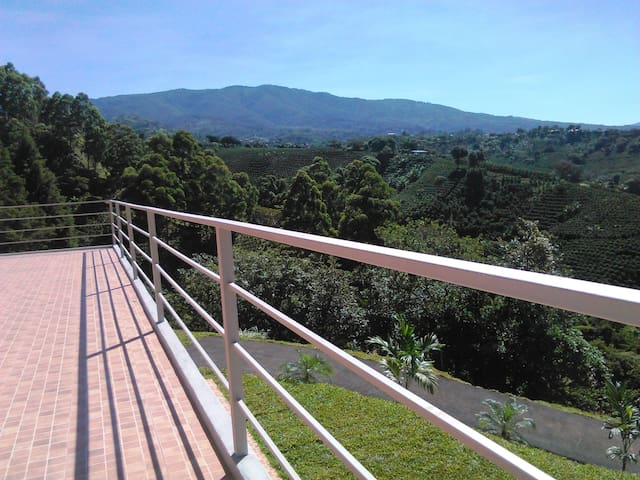 "SUPERCOSTARICA, apt. #3 ''CAFE"" - Grecia - Appartement"