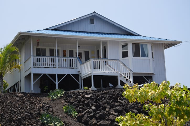 South Kona (Milolii) House with Ocean View - キャプテンクック