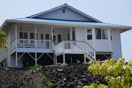 South Kona House with Ocean View - Ház