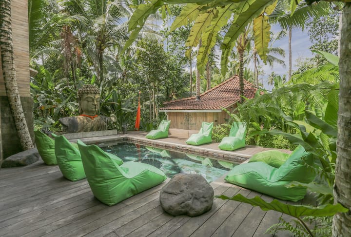 Stay in Yoga Meditation Centre with Pool