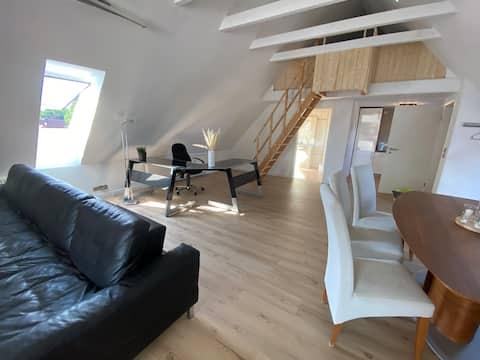 Monteur- Dachgeschosswohnung