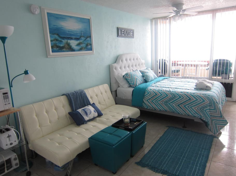 Unit 208-newly upgraded ocean view studio