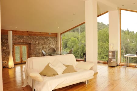 Loft with pool in Natural Park - Arbúcies
