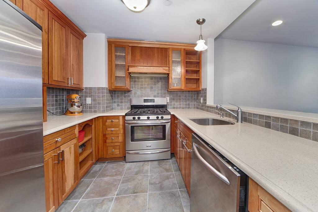 newly done kitchen