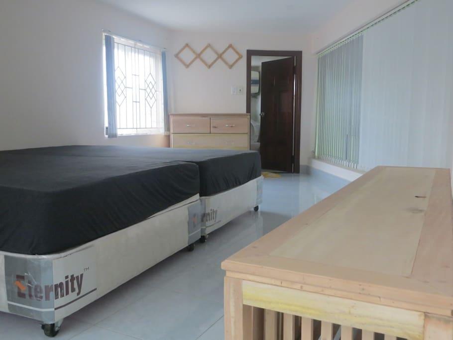 Upstair room